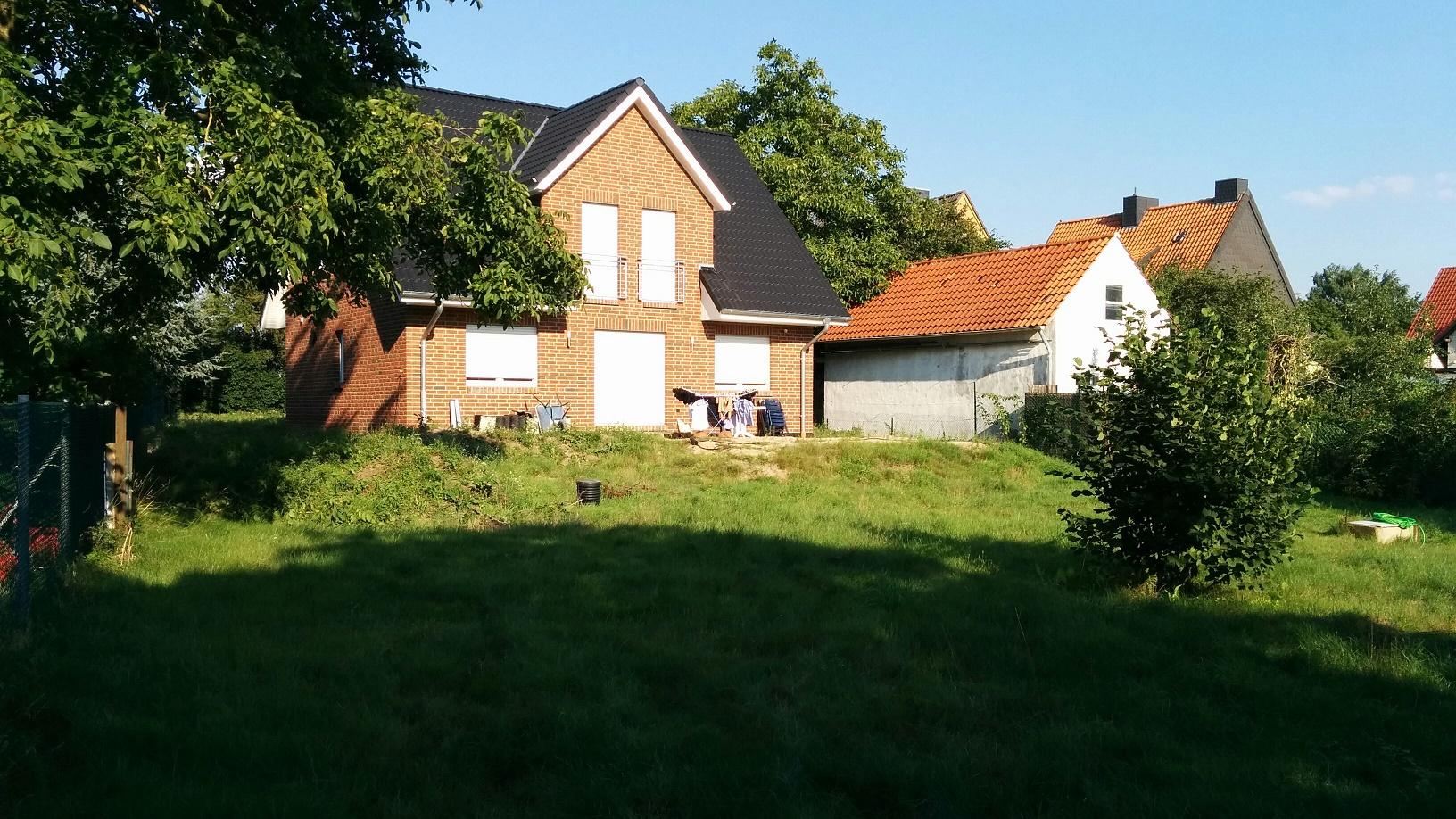 Garten / Terrasse Vorher